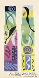 Bestias del mar Póster por Henri Matisse