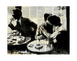Brasserie Plakater af Loui Jover