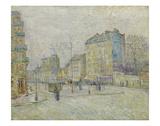 Boulevard de Clichy, 1887 Poster av Vincent van Gogh