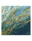 Blue Ocean Sunset Plakater av Margaret Juul
