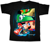 Youth: Mario Kart- Winners Stare Tshirt