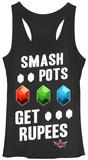 Juniors Tank Top: Legend of Zelda- Smash & Gra Womens Tank Tops