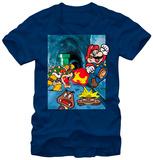 Super Mario Bros- Bowser Chase T-Shirts