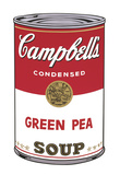 Campbell's Soup I: Green Pea, 1968 Giclee Print by Andy Warhol