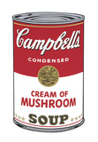 Campbell's Soup I: Cream of Mushroom, 1968 Stampe di Andy Warhol