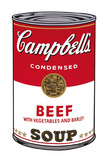Campbell's Soup I: Beef, 1968 Pôsters por Andy Warhol