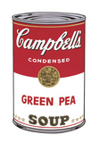 Campbell's Soup I: Green Pea, 1968 Plakater af Andy Warhol