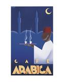 Cafe Arabica Kunstdruck von Steve Forney