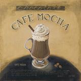 Café Mocha Julisteet tekijänä Lisa Audit