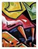 Colorful Graffiti (detail Plakater av Jenny Kraft