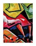 Colorful Graffiti (detail Posters av Jenny Kraft