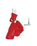 Dior and Paris Posters par Jessica Durrant