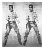 Elvis® 2 Times, 1963 Posters by Andy Warhol