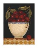 Cup O Cherries Affiches par Diane Ulmer Pedersen