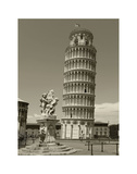 Pisa Tower Posters af Christopher Bliss