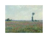 Poppy Field, 1881 Plakater av Claude Monet