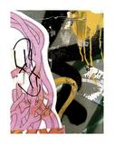 Pink Yellow Tag 1 Posters av Jenny Kraft