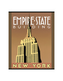 Empire State Building, New York Posters par Brian James