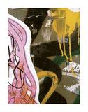 Pink Yellow Tag 2 Posters av Jenny Kraft