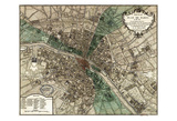 Plan de Paris Stampe