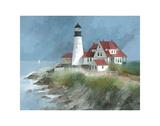 Portland Light, Maine Affiches par Albert Swayhoover