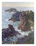 Rock Points at Belle-Ile, 1886 Pôsters por Claude Monet