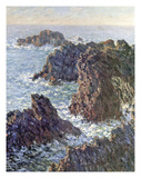 Rock Points at Belle-Ile, 1886 Posters by Claude Monet