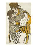 Schiele's Wife With Her Little Nephew, 1915 Posters tekijänä Egon Schiele