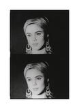 Screen Test: Edie Sedgwick, 1965 Giclée-tryk af Andy Warhol