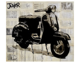 Scooter Poster by Loui Jover