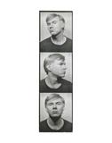 Self-Portrait, c. 1964 (photobooth pictures) Poster von Andy Warhol