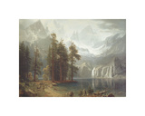 Sierra Nevada Prints by Albert Bierstadt