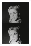 Screen Test: Edie Sedgwick, 1965 Poster von Andy Warhol