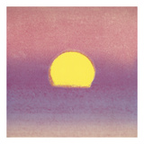 Sunset, 1972 (lavender) Posters av Andy Warhol