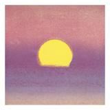 Sunset, 1972 (lavender) Kunstdrucke von Andy Warhol
