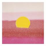 Sunset, 1972 (pink) Poster von Andy Warhol