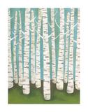 Summer Birches Pósters por Lisa Congdon