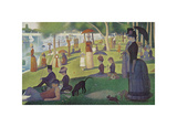 Sunday Afternoon on the Island of Grand Jatte 1864-6 Giclee Print by Georges Seurat