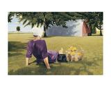 Summer Interlude Posters af Kathleen Green