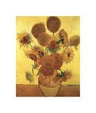 Vierzehn Sonnenblumen in einer Vase, 1888 Giclée-Druck von Vincent van Gogh