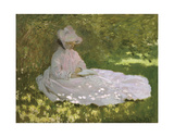 Springtime, 1872 Posters by Claude Monet