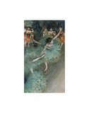 Swaying Dancer (Dancer in Green), from 1877 until 1879 Pósters por Edgar Degas
