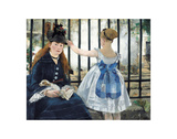 The Railway, 1873 Prints by Edouard Manet