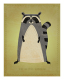 The Artful Raccoon Poster by John W. Golden