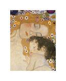 The Three Ages of Woman (detail) Giclee-trykk av Gustav Klimt