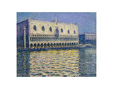 The Doges Palace, 1908 Posters af Claude Monet