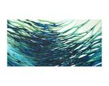 Underwater Reflections Posters av Margaret Juul