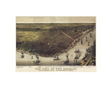 The City of New Orleans, Louisiana, 1885 Posters av Currier & Ives,