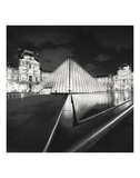 The Louvre, Study 4, Paris, France Prints by Marcin Stawiarz