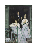 The Balcony, 1868 Posters by Edouard Manet